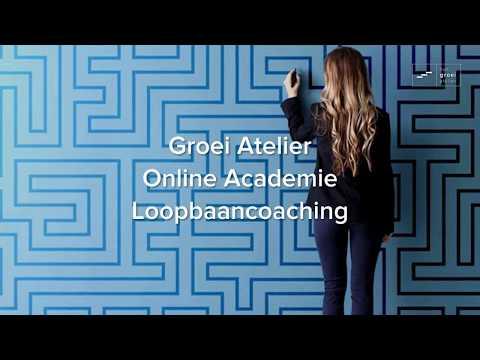 Groei Atelier Online Academie Loopbaancoaching